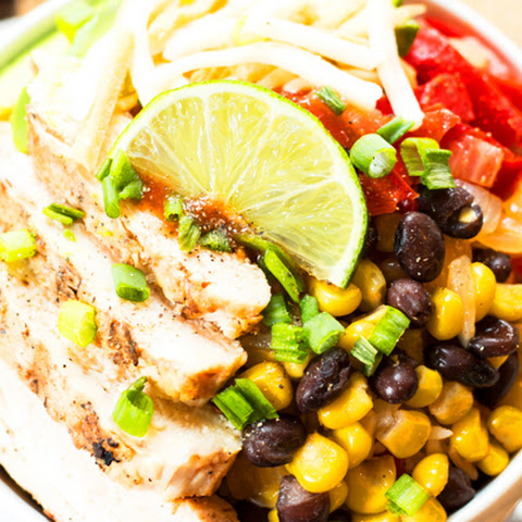 """Chipotle"" Fajita Chicken Bowls"