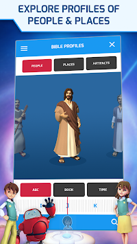 Superbook Bible, Video & Games APK screenshot thumbnail 4