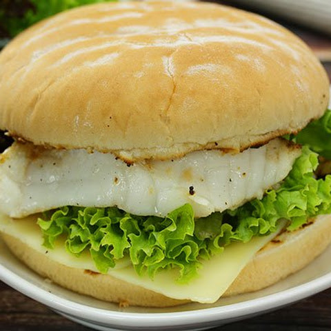 10 best cod fish burger recipes yummly for Fish burger recipe