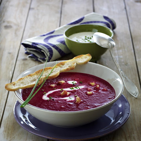 Apple and Beet Soup
