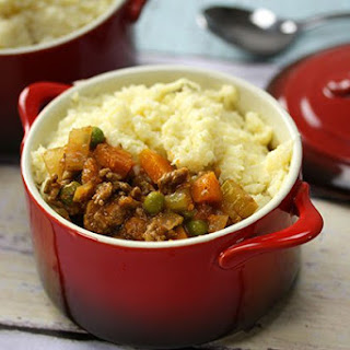 Italian Shepherd?s Pie with Cauliflower Mash