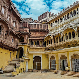 The view inside Mehrangarh Fort by Havneet Singh - Buildings & Architecture Public & Historical ( history, ancient, rajasthan, india, historical, architecture, culture, heritage, destination )