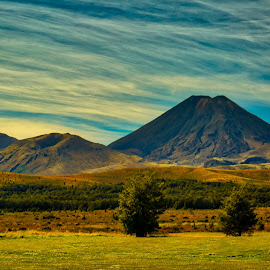 Mt. Doom by Madhujith Venkatakrishna - Landscapes Mountains & Hills