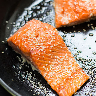 15 Minute Sesame Seared Salmon