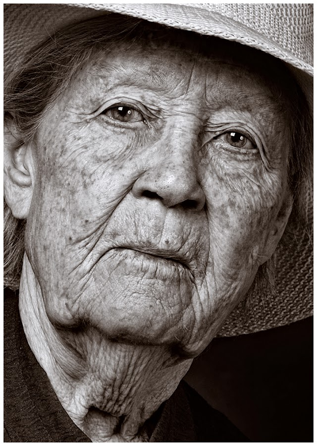 Portrait Elderly Lady by Albert Smirnov - People Portraits of Women ( smirnov, albert, lady, elderly, portrait )