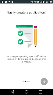 Park'em rent your parking spot - screenshot