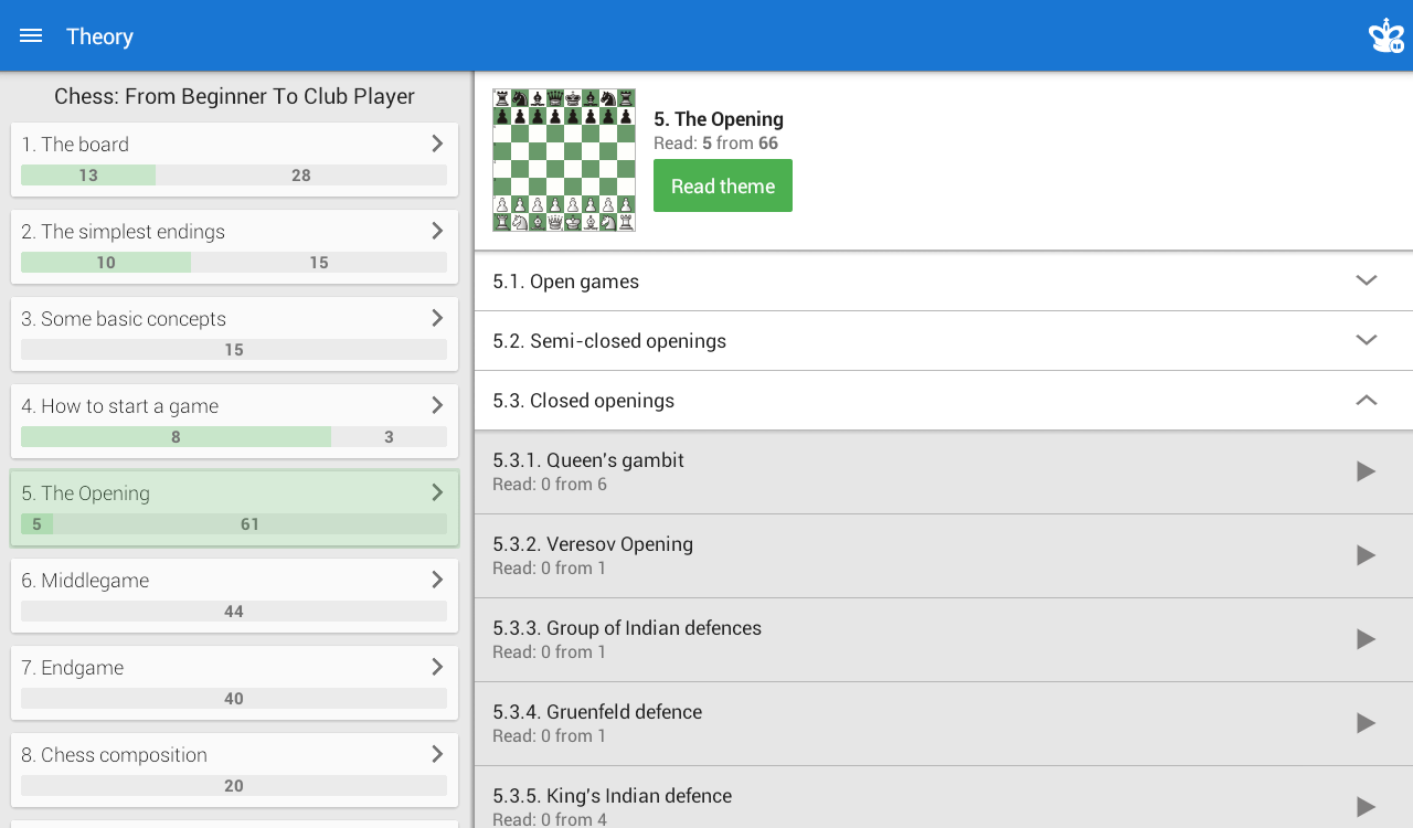 Chess: From Beginner to Club Screenshot 7