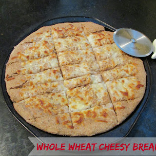 100% Whole Wheat Cheesy Bread