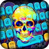 App Skeleton street graffiti keyboard APK for Windows Phone