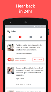 App JOB TODAY – jobs in 24hrs APK for Windows Phone