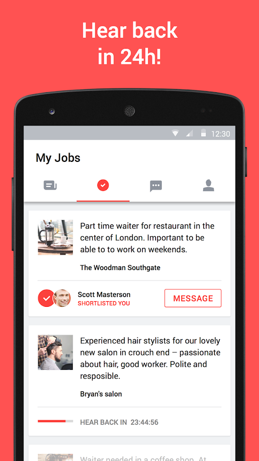 JOB TODAY – Job Search Screenshot 4