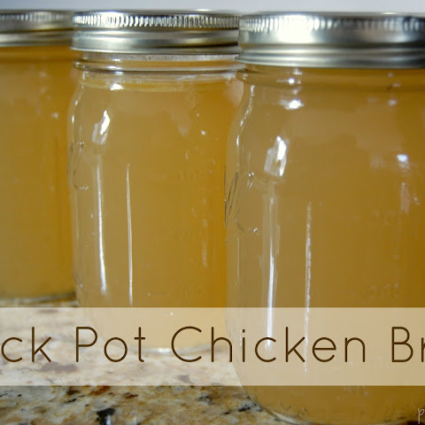 Crock Pot Chicken Broth