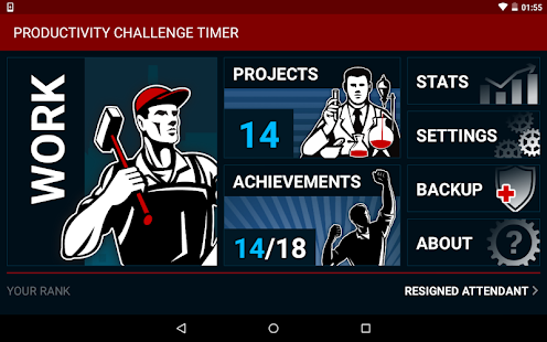 Productivity Challenge Timer- screenshot thumbnail