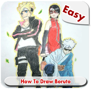 Download How To Draw Easy Boruto Step by Step For PC Windows and Mac