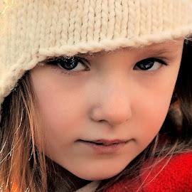 Woodland Girl by Cheryl Korotky - Babies & Children Child Portraits