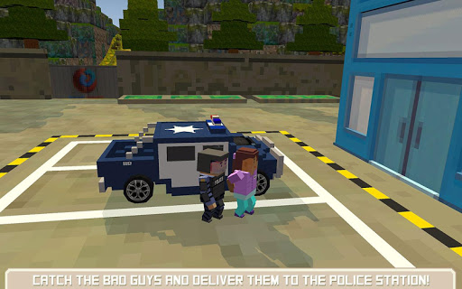 Blocky San Andreas Police SIM For PC