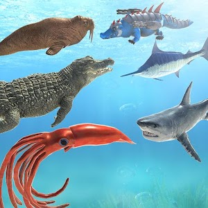 Sea Animal Kingdom Battle Simulator: Sea Monster For PC / Windows 7/8/10 / Mac – Free Download