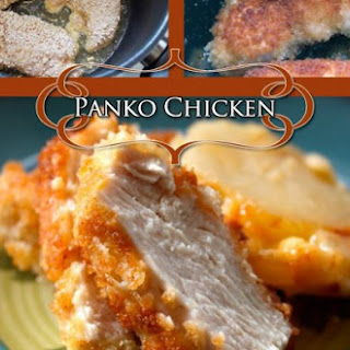 Panko Breaded Juicy Chicken Breasts