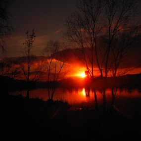 sun falls asleep by Libuše Kludská - Landscapes Sunsets & Sunrises
