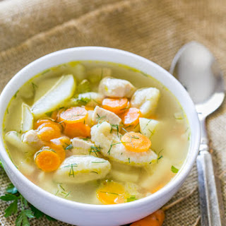 Chicken Soup With Egg Dumplings Recipes