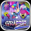 Free Download Graffiti Theme - ZERO Launcher APK for Blackberry