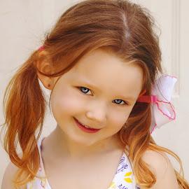 Being Silly Smile by Cheryl Korotky - Babies & Children Child Portraits