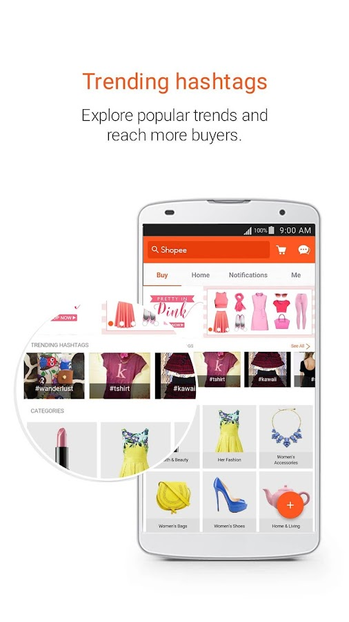 Shopee PH: Buy&Sell on Mobile Screenshot 1