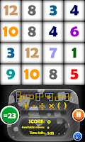 Screenshot of Arithmetics Puzzle Free