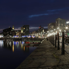 Albert Dock Liverpool by Dave Hudson - City,  Street & Park  Historic Districts