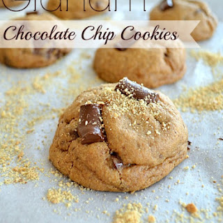 Graham Chocolate Chip Cookies