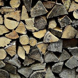 Stacked Wood Blocks by Prasanta Das - Artistic Objects Industrial Objects ( stacked, wood, blocks )