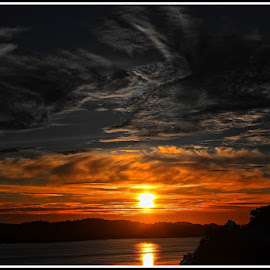 Sunset by Atle Bogen - Landscapes Sunsets & Sunrises ( water, sky, colors, sunset, landscape )