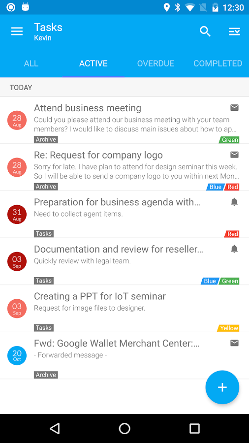 Nine Mail - Best Biz Email App Screenshot 5