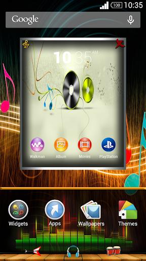 Music Theme for XPERIA - screenshot