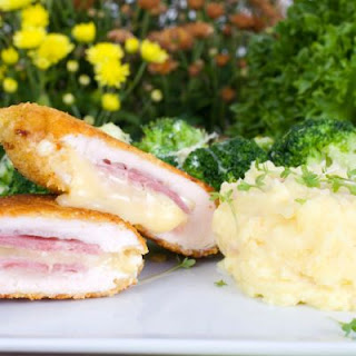 Best Crockpot Chicken Cordon Bleu Ever