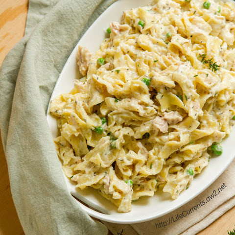 Tuna noodle casserole without cream of mushroom soup Tuna and philadelphia pasta