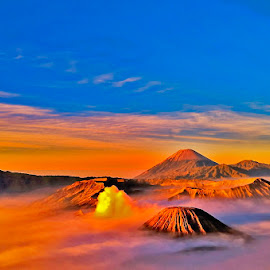 Sunrise at Mountain Bromo by Utari Ummi Hayati - Landscapes Sunsets & Sunrises