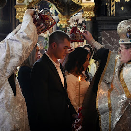 Wedding Reportage by Albert Pich - Wedding Ceremony ( church, wedding, orthodox, bride and groom, reportage )