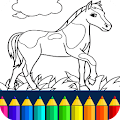 Game Horse Coloring Book apk for kindle fire