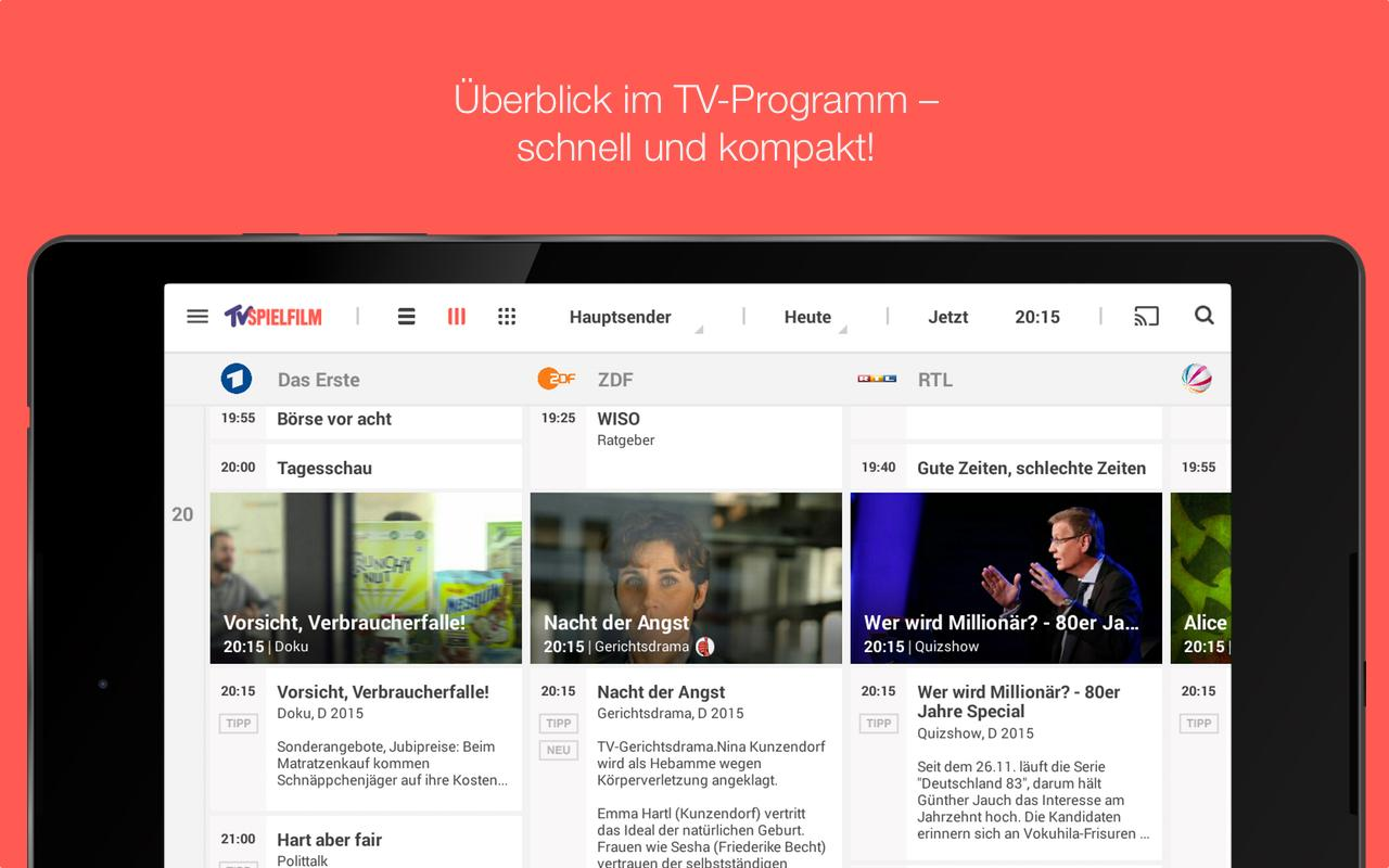 TV SPIELFILM - TV Programm Screenshot 12