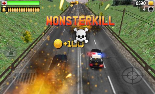 POLICE MONSTERKILL 3D screenshot 2