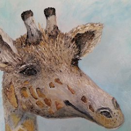 Giraffe by Rhonda Lee - Painting All Painting (  )