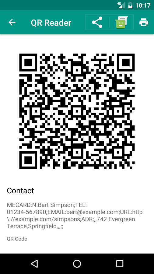 QR Reader (No Ads) Screenshot 3
