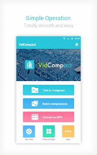 App Video Converter - VidCompact APK for Windows Phone
