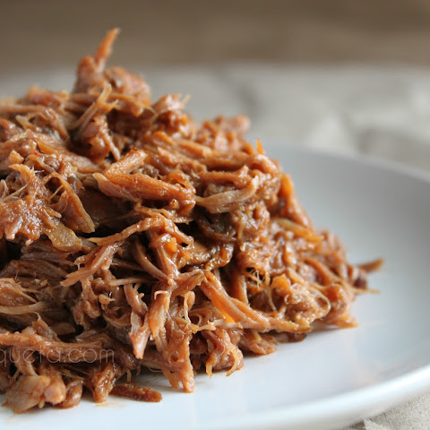 Slow Cooker Spicy BBQ Pulled Pork