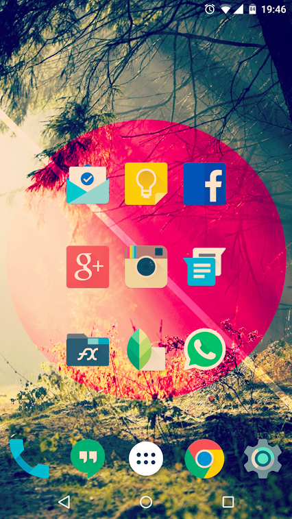 Iride UI is Hipster Icon Pack Screenshot 8