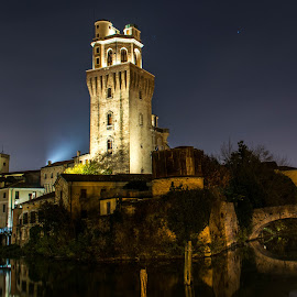 Padova at night by Hariharan Venkatakrishnan - City,  Street & Park  Night