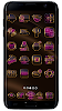 PINK icon pack pink glow black gold- screenshot thumbnail