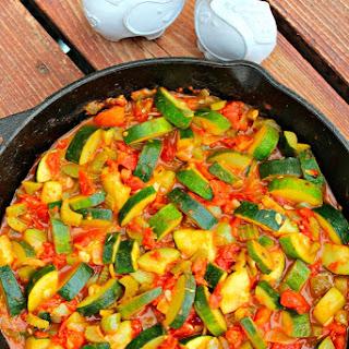 Sauteed Zucchini Tomatoes Garlic Recipes