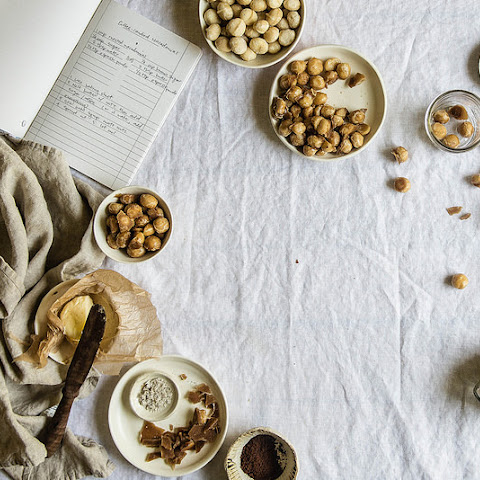 Coffee-candied Macadamia Nuts.